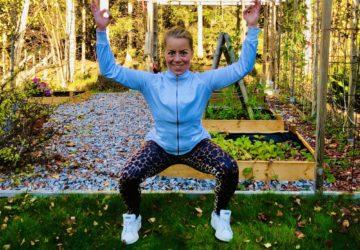 Knäböj utan vikt - 10 olika övningar