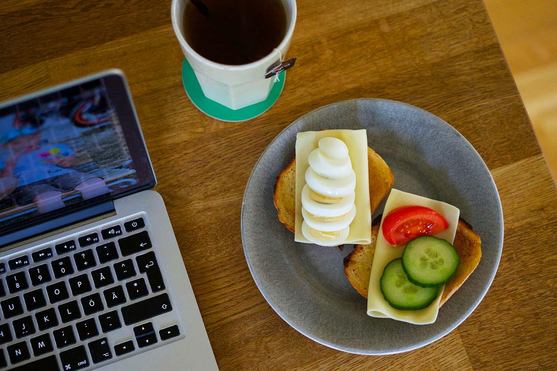Hemmakontoret frukost